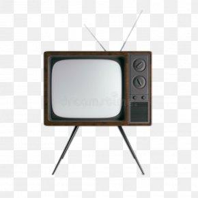 Retro Television - Television Set Electronics Sticker PNG