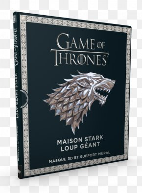 Book - A Song Of Ice And Fire House Stark Winter Is Coming Book Mask PNG