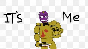 Five Nights At Freddy's Purple Guy - Five Nights At Freddy's 3 Purple Yellow Game PNG