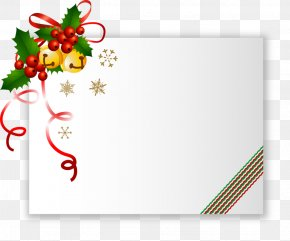 Christmas - Christmas Card Santa Claus Clip Art PNG