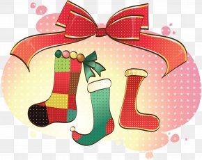 Plant Christmas Stocking - Christmas Stocking PNG