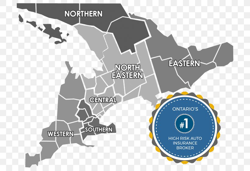 High Risk Car Insurance >> List Of Census Divisions Of Ontario Vehicle Insurance Car