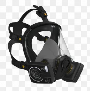Identity Guard - Gas Mask Respirator Full Face Diving Mask PNG
