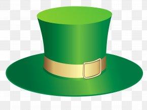 Green Leprechaun Cliparts - Leprechaun Hat Saint Patricks Day Clip Art PNG