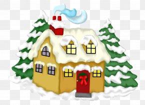 Christmas - Christmas House Winter Gift PNG
