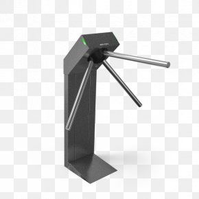 Tripod - Turnstile System Tripod Access Control Stainless Steel PNG