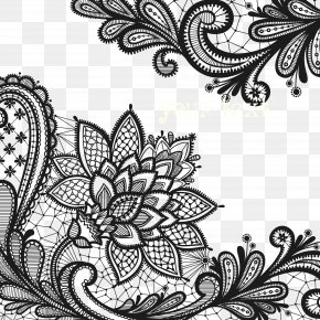 Lace Flowers PNG