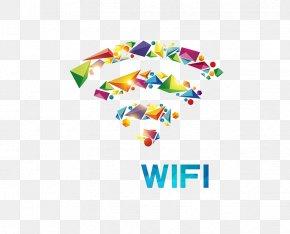 Geometric WIFI - Wi-Fi Wireless Icon PNG