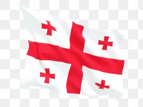 Flag - Flag Of Georgia European Union National Flag PNG
