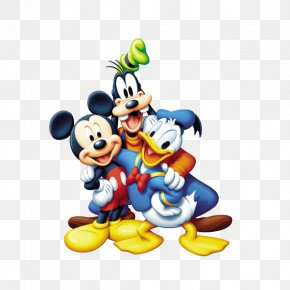 Mickey Mouse - Donald Duck Mickey Mouse Pluto Minnie Mouse Daisy Duck PNG