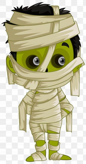 Mummy Clipart Image - Mummy Brown Color Paint PNG