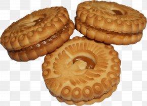 Cookie - Macaroon Sugar Cookie Icon PNG