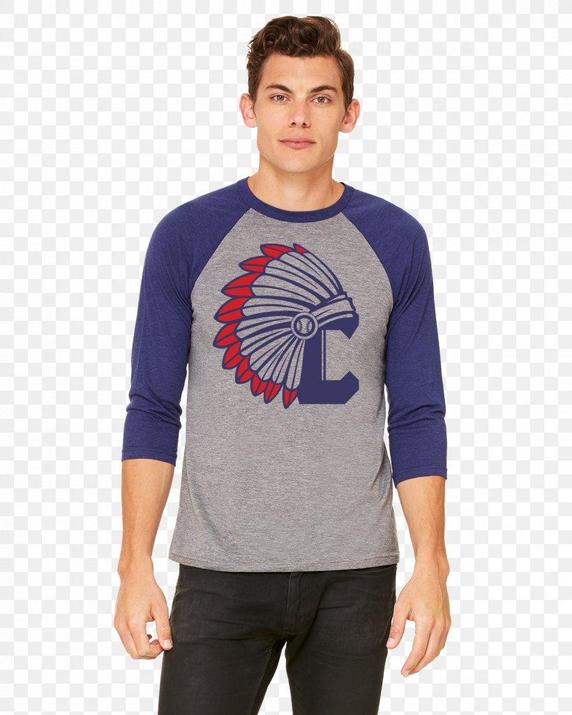 T-shirt Raglan Sleeve Bella + Canvas 3200 Unisex 3/4 Sleeve Baseball T Shirt, PNG, 1200x1500px, Tshirt, Blue, Clothing, Cobalt Blue, Crew Neck Download Free