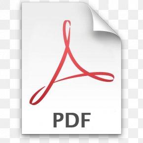 File Pdf Icon - Adobe Acrobat Portable Document Format Adobe Reader PNG