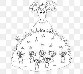 Radish Seed Goat - Chicken Goat U7f8a Chinese Zodiac Carrot PNG