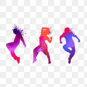 Drawing Vector Silhouette Figures - Dance Silhouette Clip Art PNG