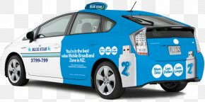 Taxi Driving - 2010 Toyota Prius Car Door City Car Electric Vehicle PNG