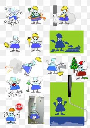 Microscope - Clip Art Laboratory Flasks Laboratoriumdiagnostiek Laboratory Glassware PNG