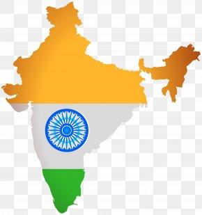 Politics - India Map Clip Art PNG