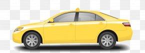 Taxi - Taxi Car Rental Yellow Cab PNG