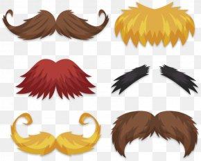 Six Kinds Of Beard Shape - Beard Moustache PNG