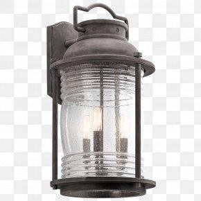 Light A Lantern - Landscape Lighting Sconce Light Fixture PNG