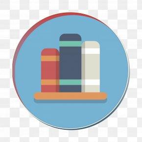 Logo Library Icon - Books Icon Bookshelf Icon Library Icon PNG