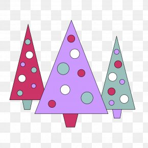 Three - Santa Claus Christmas Tree Candy Cane Clip Art PNG