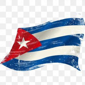 Flag Of Cuba Picture - Flag Of Puerto Rico Clip Art PNG