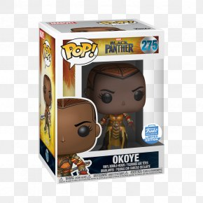 Black Panther Action & Toy Figures Funko Pop! Vinyl FigureOthers - Okoye Funko Pop! Marvel PNG