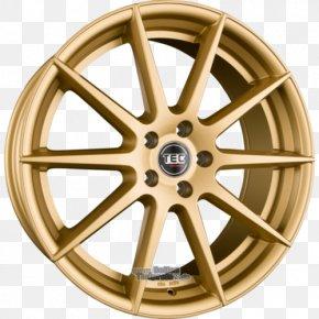 Silver - Alloy Wheel Autofelge Silver Spoke PNG
