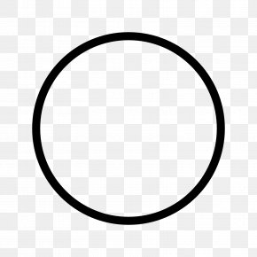 Circle HD - Circle Area Black And White Pattern PNG