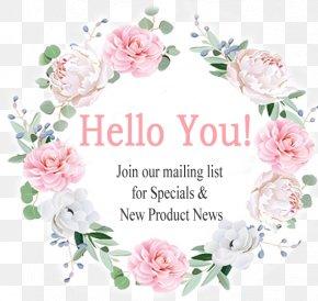Lauren Wreath - Floral Design Flower Rose Wreath PNG