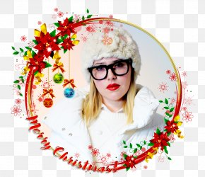 Merry Christmas And Happy Holiday - Santa Claus Christmas Picture Frames Clip Art PNG