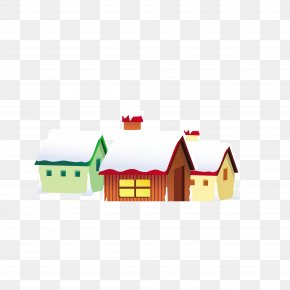 Igloo Snow Pattern - Snow Christmas Cartoon Clip Art PNG