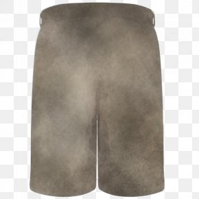 Beige Leather - Clothing Grey Shorts Board Short Sportswear PNG