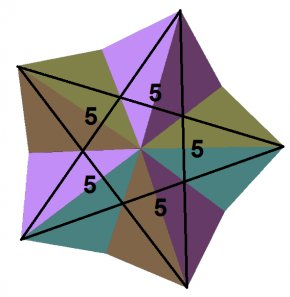Triangle - Great Dodecahedron Kepler–Poinsot Polyhedron Stellation Small Stellated Dodecahedron PNG
