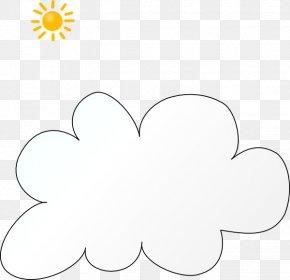 Cloud Clip Art - Petal White Leaf Point Clip Art PNG