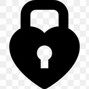 Padlock - Padlock Heart Love Lock PNG