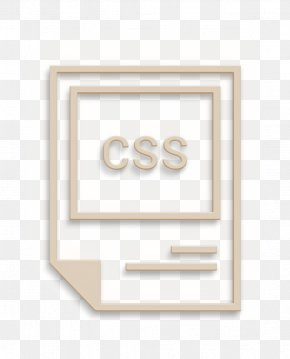 Paper Product Beige - Css Icon Extention Icon File Icon PNG