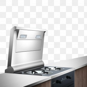 Gas Stove - Kitchen Exhaust Hood Gas Stove Hearth PNG