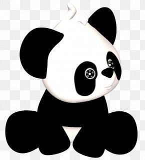 Panda - Giant Panda Clip Art PNG