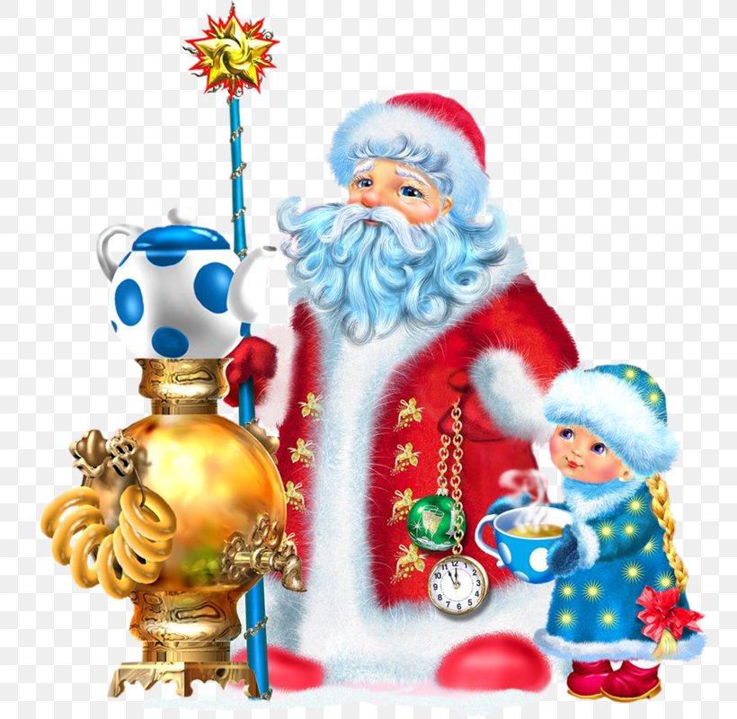 Ded Moroz Snegurochka Santa Claus Grandfather Ziuzia, PNG, 757x800px, Ded Moroz, Birthday, Christmas, Christmas Card, Christmas Decoration Download Free