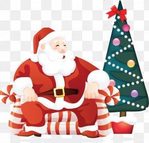 Santa Claus - Santa Claus Christmas Ded Moroz Clip Art PNG