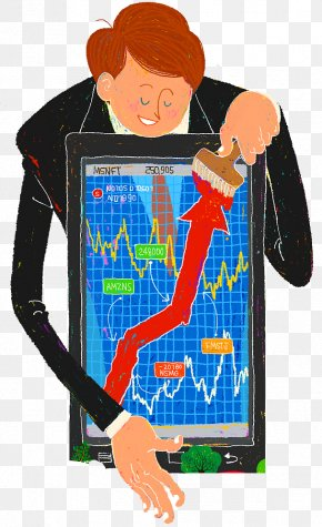 Cartoon,Stock Market,Vector Diagram - Stock Market PIXTA Inc. Stock Trader Illustration PNG