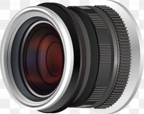 Vector Black Camera Lens - Fisheye Lens Digital SLR Camera Lens Lens Cover PNG
