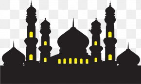 Vector Muslim Building Plans - Mosque Ramadan Islam Illustration PNG