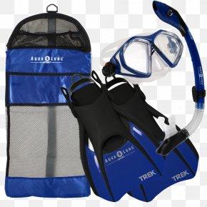 Aqua-Lung Diving & Snorkeling Masks Scuba Set Diving & Swimming Fins PNG