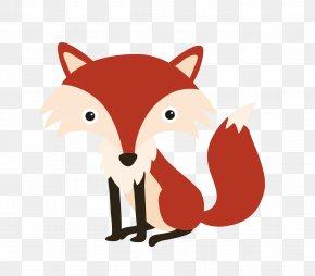 Fox - Red Fox Farm Animal Matching Game Clip Art PNG