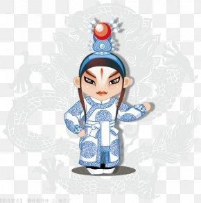 A Full Set Of 50 Vector Cartoon Characters Opera, Peking Opera, - Peking Opera Character Chinese Opera PNG